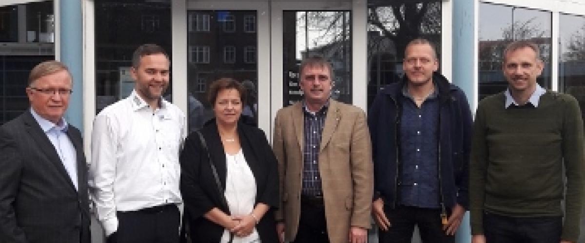 Bjarne Graabreek, Bo Kikkenborg, Dorte Jensen, Dieter Kümpers, Lars Risager, Erik Ramballe Hansen